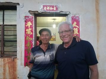 Mr. Li and I